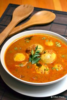 Indian Khana: Egg Kurma Recipe Egg Recipes Indian, Easy Egg Recipes, Asian Recipes, Ethnic Recipes, Indian Dishes, Curry Recipes, Seafood Recipes, Vegetarian Recipes, Cooking Recipes