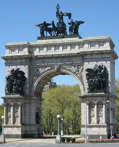 Grand Army Plaza in Park Slope Brooklyn, NY