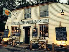 Globe Inn the Marsh,Rye outside.