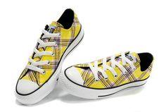 b3032262434d Converse All Star Low Top Unbleached White Plaid Canvas Shoes