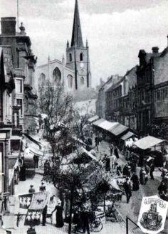 Staffordshire, Walsall, High Street Market