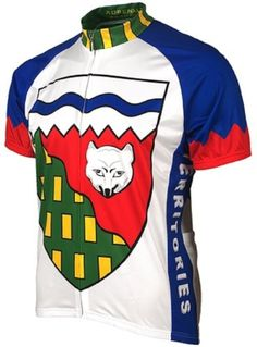 83b700b94 Adrenaline Promotions Canadian Territories Northwest Territories Cycling  Jersey