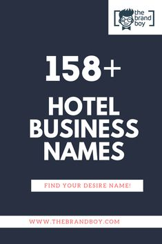 Here is the list of Catchy Hotel Business Names idea for your next Startup Catchy Business Name Ideas, Business Names, Hotel Logo, Hotel Branding, Bad Hotel, Hotel S, Catchy Names, Cool Names, Group Names Ideas