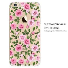 Rose Phone Case AH1001-19 Customize Acceptable #phonecases #phonecaseph #ikfphonecase #case #fashion #pink #beautiful #flowers #rose