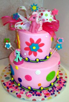 Cake Gallery Birthday Cakes Feb2011 045 Cakepins My Little Pony