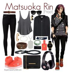 """Matsuoka Rin [Free!]"" by anggieputeri ❤ liked on Polyvore featuring Beats by Dr. Dre, rag & bone, RVCA, Dolce&Gabbana, HTC, James Perse, Ted Baker, Tiffany & Co., Kenneth Jay Lane and Aéropostale"