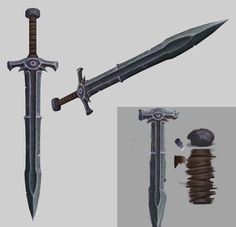 23 swords - Polycount Forum