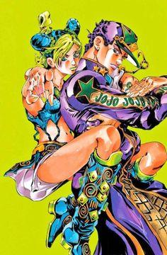 JoJo Bizarre Adventure: Stone Ocean (Part Jolyne Cujoh & Jotaro Kujo Jojos Bizarre Adventure Jotaro, Jojo's Bizarre Adventure Anime, Jojo Bizzare Adventure, Manga Anime, Comic Manga, Manga Art, Jojo Parts, Jojo Anime, Jotaro Kujo