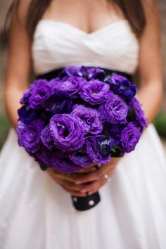 bold purple bouquet