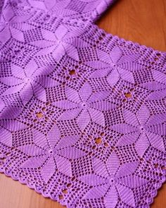 Beautiful Crochet Patterns and Knitting Patterns - Browse our thousands of free crochet patterns and knitting patterns. Select your favorite one and start working on it. Do not forget to share our patterns. Crochet Tablecloth Pattern, Crochet Bedspread, Crochet Doily Patterns, Crochet Squares, Crochet Motif, Crochet Doilies, Crochet Lace, Knitting Patterns, Crochet Butterfly
