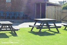 Beer Garden The Bebside Inn www.itsthebebby.co.uk Twitter@itsthebebby