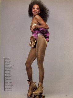 Diana Ross Vogue 1981