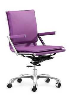 lilac office chair covers in spanish 22 best purple chairs images desk lider plus hautelook com home decor