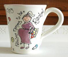 Personalised Mummy-To-Be Baby Shower Gift Mug