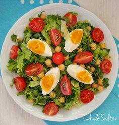 nohutlu diyet salata