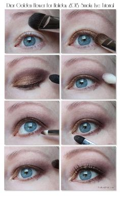 Dior Golden Flower Smoky Eye Tutorial for Holiday 2013