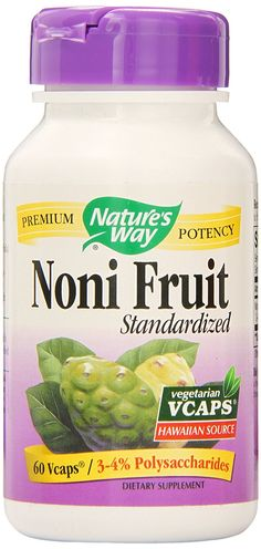 Nature's Way Noni Fruit, 60 Vcaps ** Hurry! Check out this great product : Herbal Supplements