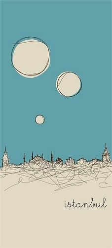 Creative Campaign, Doodle, Mosque, Illustration, and Istanbul image ideas & inspiration on Designspiration Illustration Inspiration, Graphic Design Illustration, Graphic Art, Illustration Art, Sketchbook Inspiration, Art Postal, Art Graphique, Art Plastique, Travel Posters