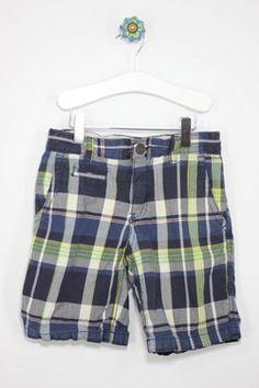 GAP Kids Size 6 Plaid Shorts
