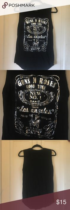 Guns N Roses muscle tee M Super soft muscle tee tank. Excellent Condition Bravado Tops Muscle Tees