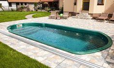 Laminátový bazén - Rhodos