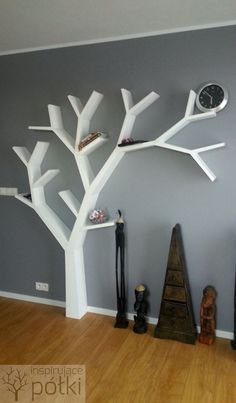 Półka jak drzewo 210x200x18