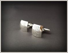These polished Irish Family emblem cufflinks were inscribed by hand with an emblem from our customers Family Crest. Sophisticated and clean lined engraving make for a very treasured piece. Irish Jewelry, Family Crest, Handcrafted Jewelry, Cufflinks, Jewelry Design, Silver, Gold, Accessories, Handmade Chain Jewelry