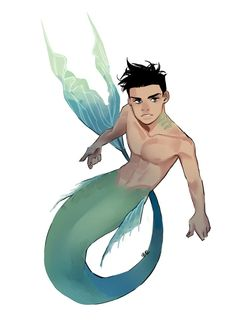 Damian Wayne ft. the lil' mermaid
