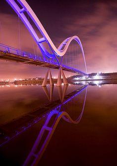 Infinity Bridge, Stockton-on-Tees, England. | by kettyschott