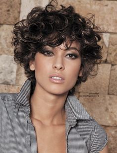 Curly Short Hairstyles Short Haircuts For Curly Hair Women Hairstyle Trendy