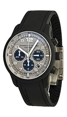 cool Porsche Design Dashboard Chronograph Automatic Black Titanium Mens Watch Calendar 6612.17.54.1190/3 just added...