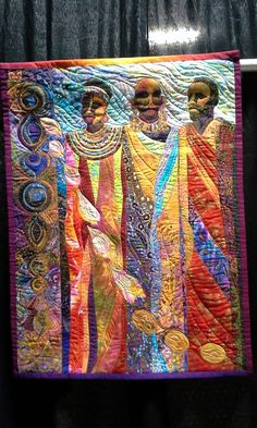 Ancestral Spirits ~ African American Tapestry Wall Hanging