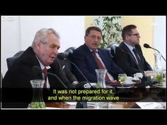 President Zeman of the Czech Republic speaks on islam and mass immigration. There's no Political Correctness here, just honesty from a true leader who wishes. Muslim Brotherhood, Sharia Law, Animal Activist, Atheist, Czech Republic, Evolution, Presidents, Entertaining, Culture