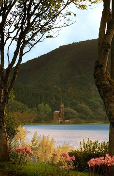 This mini replica version of a German Castle sits on the south side of a lake in Furnas, Sao Miguel, Azores.