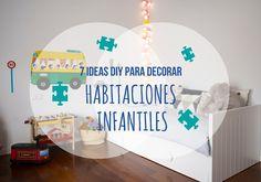 7 ideas DIY para decorar habitaciones infantiles