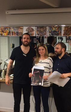 Dyskonekcje były głównym tematem, na którym skupili się szkoleniowcy z londyńskiej Akademii Allilon. Styliści Davines podeszli do tego tematu z ogromnym wyczuciem i talentem. Efekt: dyplomy, jakie otrzymali od Allilon i wspaniałe nowe umiejętności  #davines #allilon #fryzjerzy #wlosy