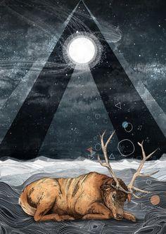 The Unsleeping Dream  by Sandra Dieckmann