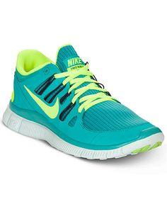 Nike Women's Shoes, Free 5.0+ Running Sneakers - Sneakers - Shoes - Macy's