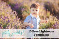 10 Free Lightroom Templates. Pretty Presets for Lightroom.