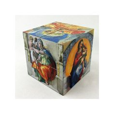 The Sistine Chapel Art Cube By Michelangelo