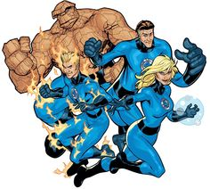 Fantastic four are really really good, I like their costumes and powers and I like that there is three of them which makes it all more interesting