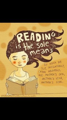 Reading is amazing