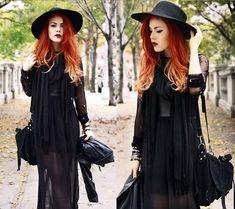 Just breathtaking.    Sheer Black (by Lua P) http://lookbook.nu/look/4575263-Sheer-Black
