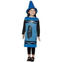 Amazon.com: Blue Crayola Crayon Costume: Toys & Games