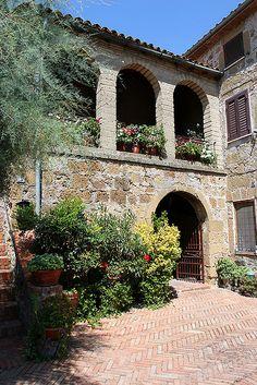 Sovana, Tuscany, Italy