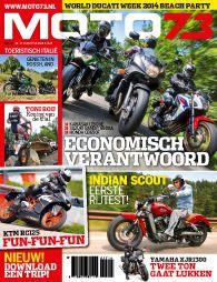 Vaktijdschrift over motorrijden, motortechniek, toerisme