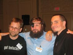 Me, with some Canadians, 2009