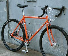Soma Adventure Frameset; gravel grinder, call it a monster-cross bike, call it whatever you'd like