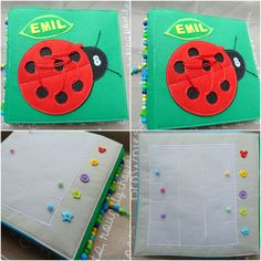 Personalized quiet book 8 by Lujdelson on Etsy
