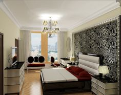 Small Living Room Spaces   ... Design Ideas Small Space Design: Small Space condo In New York City